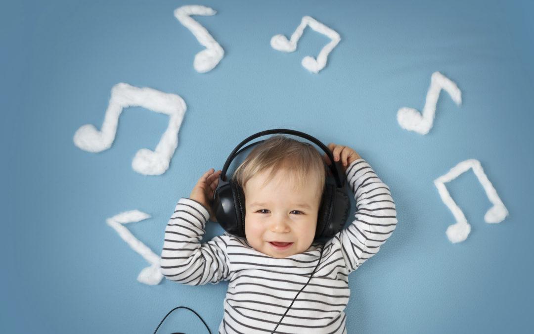 La música es un excelente estímulo para tu bebé